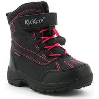 Chaussures Fille Bottes de neige Kickers Jump Wpf NOIR