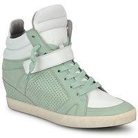 Chaussures Femme Baskets montantes Kennel + Schmenger SOHO BRIGHT Vert / Blanc