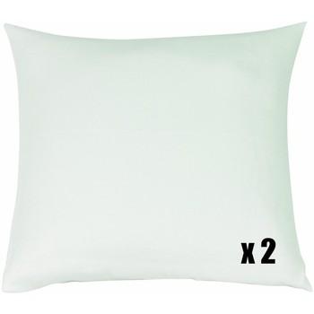 Maison & Déco Taies d'oreillers, traversins Blanc Des Vosges Protèges oreiller - Molleton coton Blanc coton