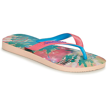 Chaussures Femme Tongs Havaianas TOP FASHION Rose