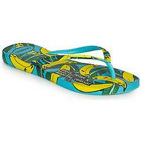 Chaussures Femme Tongs Havaianas SLIM SUMMER Bleu