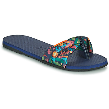 Chaussures Femme Tongs Havaianas YOU SAINT TROPEZ Bleu