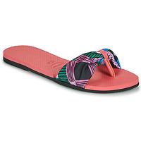 Chaussures Femme Tongs Havaianas YOU SAINT TROPEZ Rose