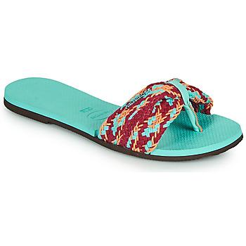 Chaussures Femme Tongs Havaianas YOU ST TROPEZ MESH Bleu