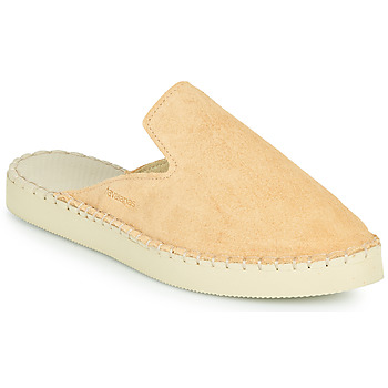 Chaussures Femme Mules Havaianas ESPADRILLE MULE LOAFTER FLATFORM Beige