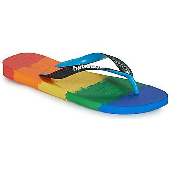 Chaussures Tongs Havaianas TOP LOGOMANIA MULTICOLOR Multicolore