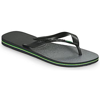 Chaussures Tongs Havaianas BRASIL FRESH Noir