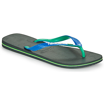 Chaussures Tongs Havaianas BRASIL MIX Noir / Bleu