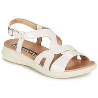 Chaussures Femme Sandales et Nu-pieds Wonders PEWE Blanc