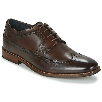 Chaussures Homme Derbies Base London HAVISHAM Marron