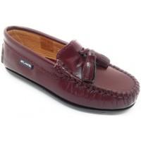 Chaussures Enfant Mocassins Atlanta 24268-18 Bordeaux
