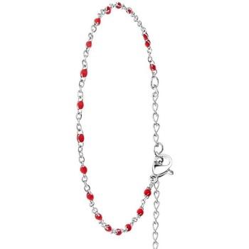 Montres & Bijoux Femme Bracelets Sc Bohème B2381-ROUGE Argenté