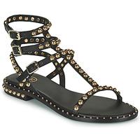 Chaussures Femme Sandales et Nu-pieds Ash PLAY Noir