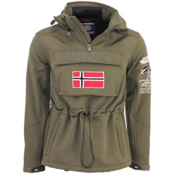 Vêtements Homme Sweats Geographical Norway Softshell Homme Target Kaki