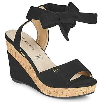 Chaussures Femme Sandales et Nu-pieds Les Petites Bombes BELA Noir
