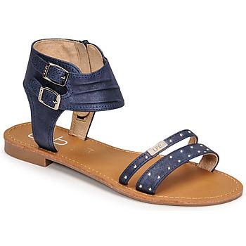 Chaussures Femme Sandales et Nu-pieds Les Petites Bombes BELIZE Bleu