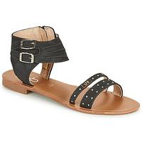 Chaussures Femme Sandales et Nu-pieds Les Petites Bombes BELIZE Noir