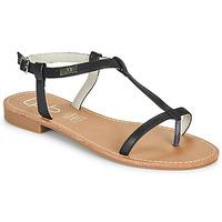 Chaussures Femme Sandales et Nu-pieds Les Petites Bombes BULLE Noir