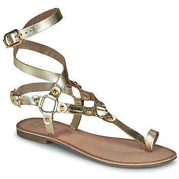 Chaussures Femme Sandales et Nu-pieds Les Petites Bombes BLEONA Doré