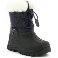 Chaussures Fille Bottes Kickers Sealsnow MARINE