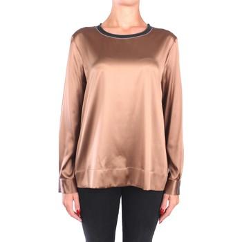 Vêtements Femme Tops / Blouses Peserico S06655 C2372 Chemisiers Femme Bronze Bronze