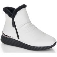Chaussures Femme Bottines Remonte Dorndorf D5975-80 Blanc