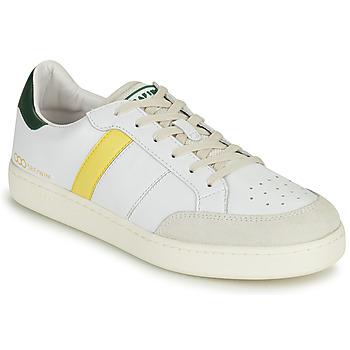 Chaussures Homme Baskets basses Serafini WIMBLEDON Blanc / Vert / Jaune