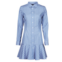 Vêtements Femme Robes courtes Lauren Ralph Lauren TRIELLA Bleu / Blanc