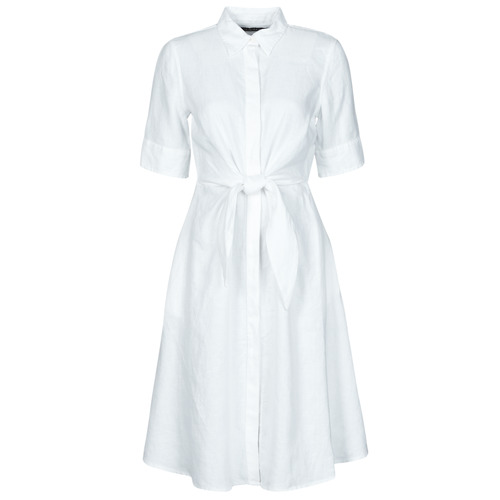 Vêtements Femme Robes courtes Lauren Ralph Lauren WAKANA Blanc