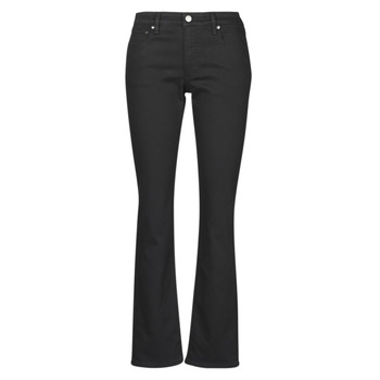 Vêtements Femme Jeans droit Lauren Ralph Lauren MIDRISE STRT-5-POCKET-DENIM Noir