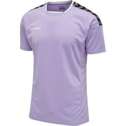 Vêtements T-shirts manches courtes Hummel Maillot  Authentic Poly HML bleu lavande