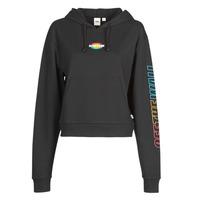 Vêtements Femme Sweats Vans WM OVAL TEEN HOODIE Black