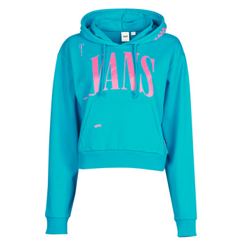Vêtements Femme Sweats Vans WM KAYE CROP HOODIE Bleu