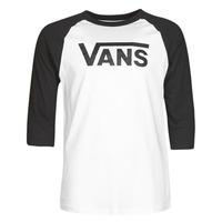 Vêtements Homme T-shirts manches longues Vans VANS CLASSIC RAGLAN Blanc / Noir