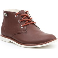 Chaussures Femme Boots Lacoste Sherbrook HI SB SPJ 7-30SPJ101177T brązowy