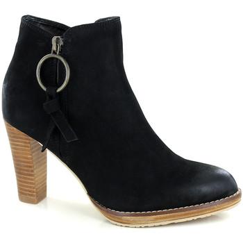 Chaussures Femme Bottines Fugitive ASTON NOIR B