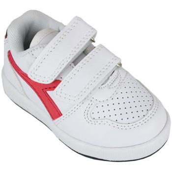 Chaussures Enfant Baskets basses Diadora playground td c0673 Rouge