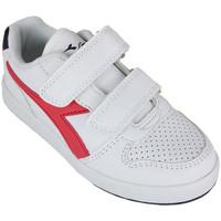 Chaussures Enfant Baskets basses Diadora playground ps c0673 Rouge