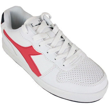Chaussures Enfant Baskets basses Diadora playground gs c0673 Rouge
