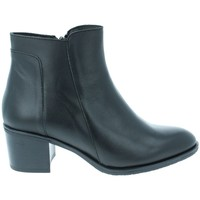 Chaussures Femme Bottines Amoa Bottines COURTAIN Zip NOIR