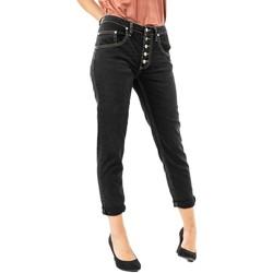 Vêtements Femme Jeans 3/4 & 7/8 Please p1ym 1970 nero denim noir