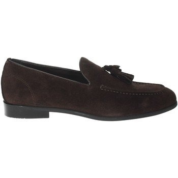 Chaussures Homme Mocassins Gino Tagli A104NP Marron