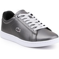 Chaussures Femme Baskets basses Lacoste Carnaby Evo 317 Argent