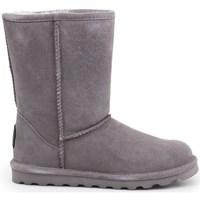 Chaussures Femme Bottes de neige Bearpaw Elle Short Gris