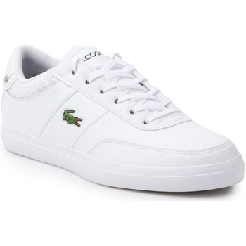 Chaussures Homme Baskets basses Lacoste Courtmaster 118 2 Cam Blanc