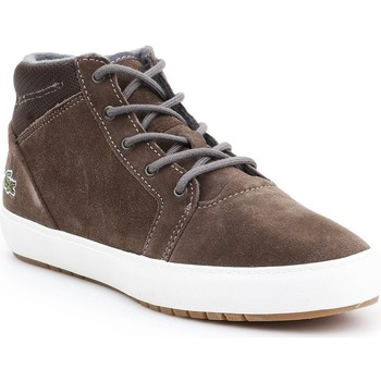 Chaussures Femme Boots Lacoste Ampthill Chukka 417 1 Caw Marron
