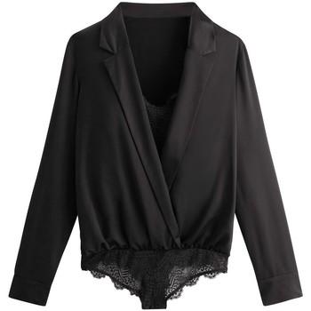 Sous-vêtements Femme Bodys Pommpoire Body noir Effrontée Noir