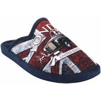 Chaussures Homme Chaussons Gema Garcia Rentrez chez vous monsieur  2301-1 az.roj Rouge