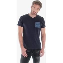 Vêtements Homme T-shirts & Polos Japan Rags T-shirt pezar marine DARK NAVY