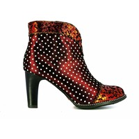 Chaussures Femme Low boots Laura Vita ALCBANEO1351Rouge Rouge